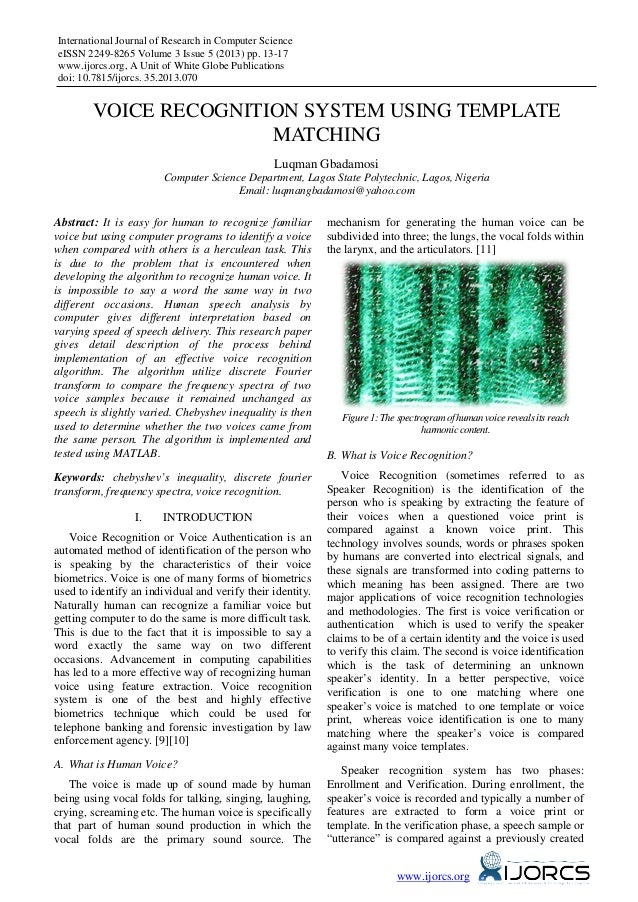 International Journal of Research in Computer Science eISSN 2249-8265 Volume 3 Issue 5 (2013) pp. 13-17 www.ijorcs.org, A ...