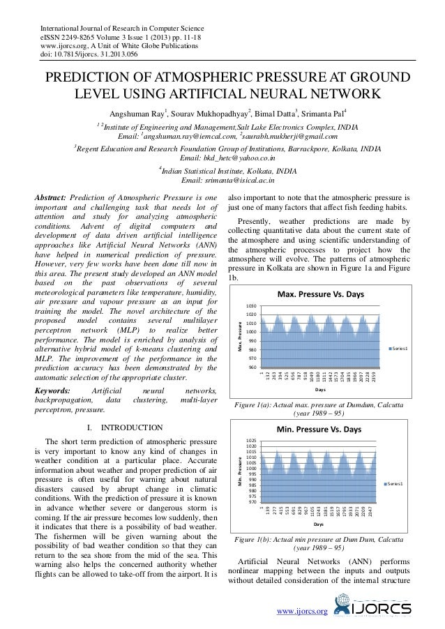 International Journal of Research in Computer Science eISSN 2249-8265 Volume 3 Issue 1 (2013) pp. 11-18 www.ijorcs.org, A ...