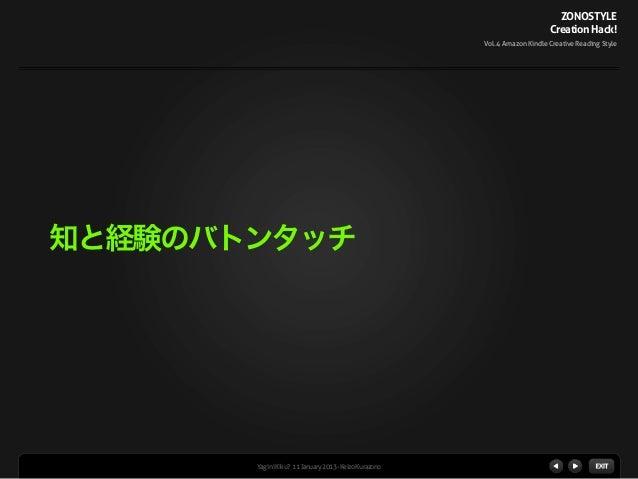 Vol 4 Amazon Kindleクリエイティブ読書術