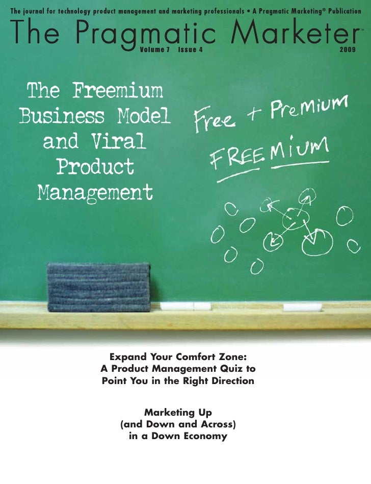 7      4              2009      The Freemium Business Model    and Viral     Product   Management             Expand Your ...