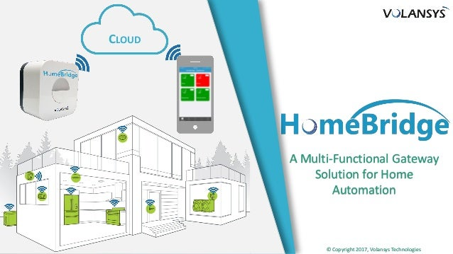 A Multi-Functional Gateway Solution for Home Automation © Copyright 2017, Volansys Technologies CLOUD