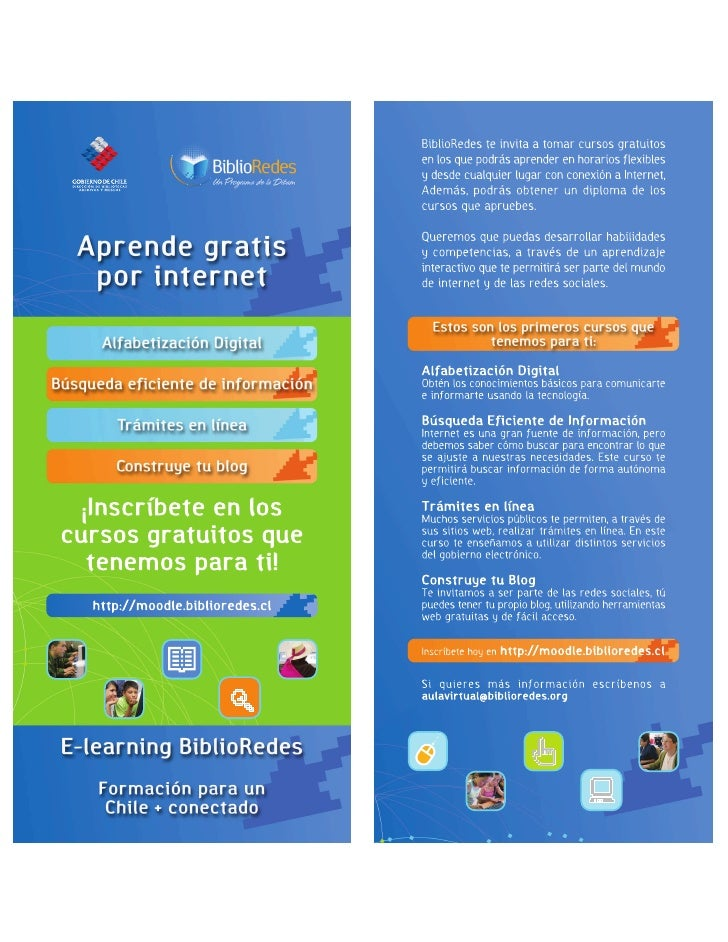 Oferta Aula Virtual BiblioRedes 2009