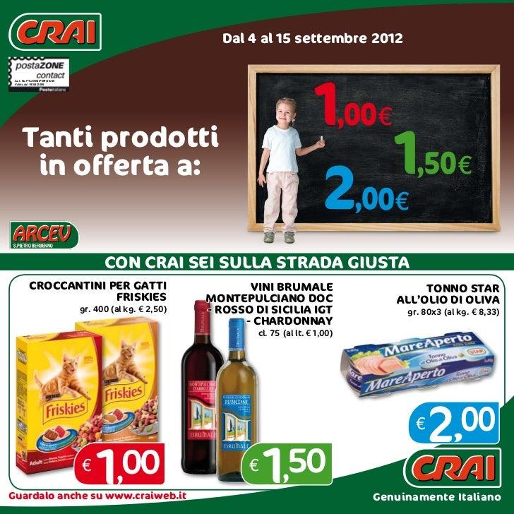 Dal 4 al 15 settembre 2012                                                                                 1,00€ Aut. Nr. ...