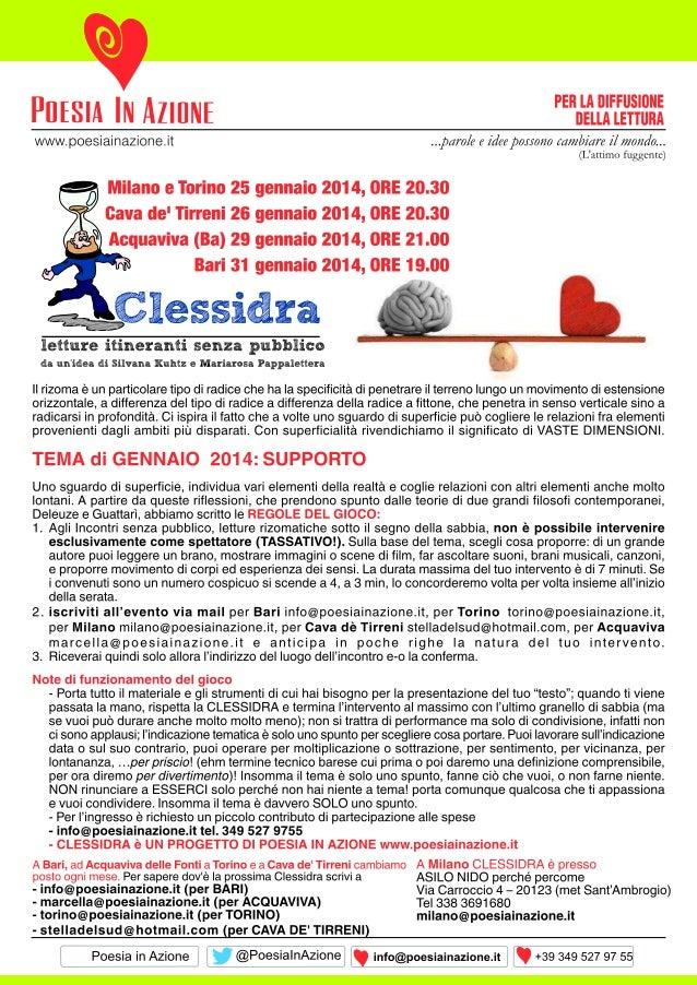 Volantino clessidra genn2014
