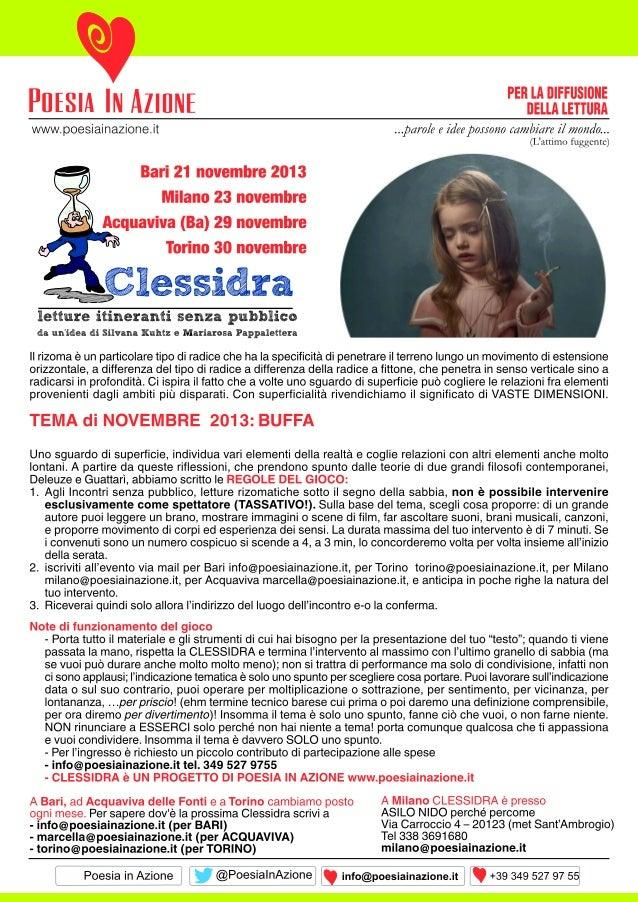 Volantino clessidra nov2013