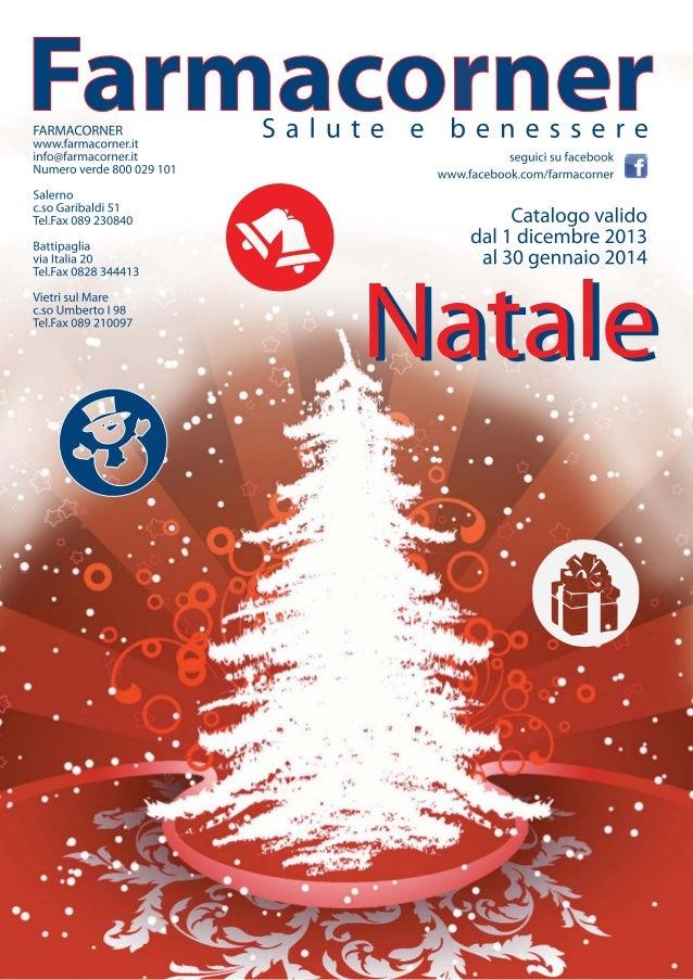 Volantino Natale Parafarmacia Farmacorner Benessere E Salute Tante O