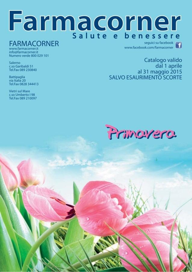 Volantino Primavera 2015 Farmacorner Salute E Benessere