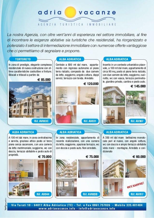 Affitti Appartamenti Estivi Affitti Turistici Alba Adriatica Con Ad