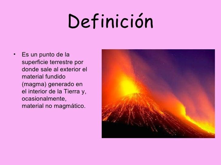 Volcanes for Origen y definicion de oficina