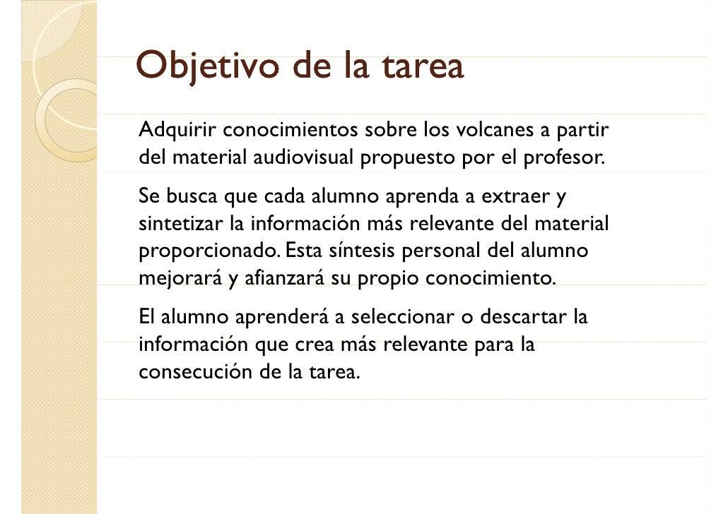 Tarea sobre volcanes for Informacion sobre los arquitectos