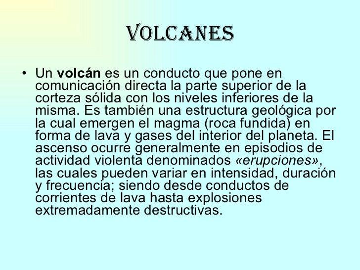 Volcanes Slide 3