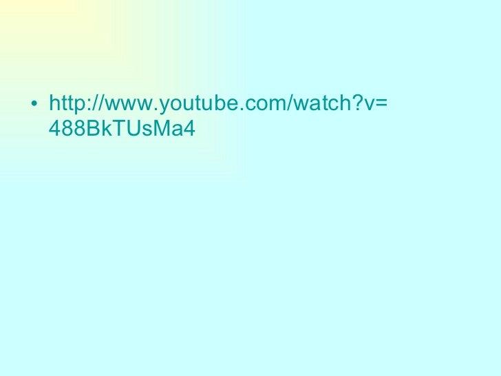 <ul><li>http :// www.youtube.com / watch?v = 488BkTUsMa4 </li></ul>
