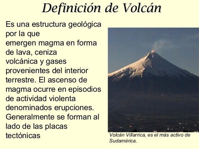Volcanes actividad volcanica imagenes definicion trabajo for Origen y definicion de oficina