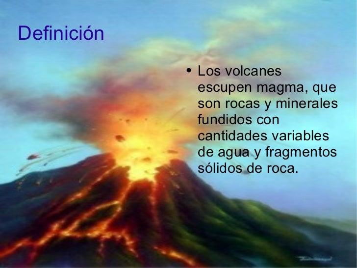 Volcanes terremotos y maremotos for Roca definicion