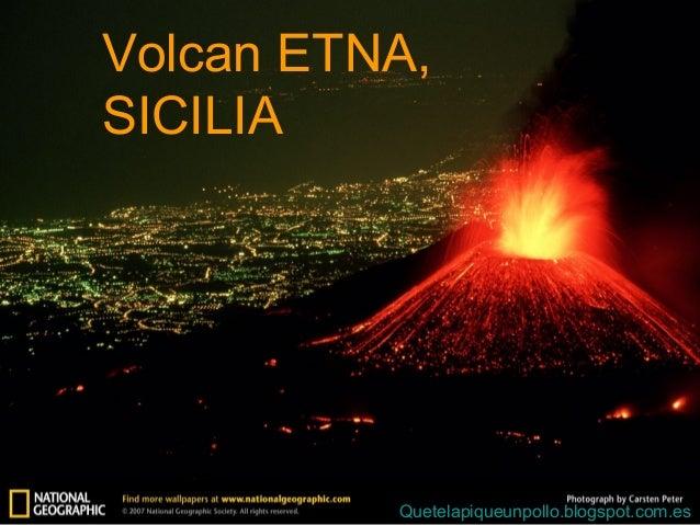 volcan etna  sicilia