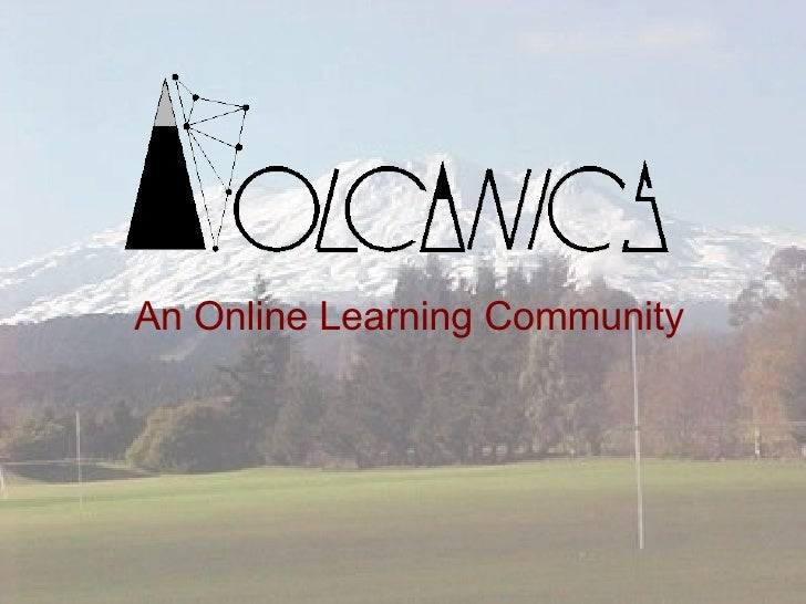 An Online Learning Community