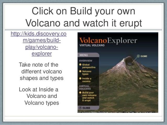 Volcanic Simulations