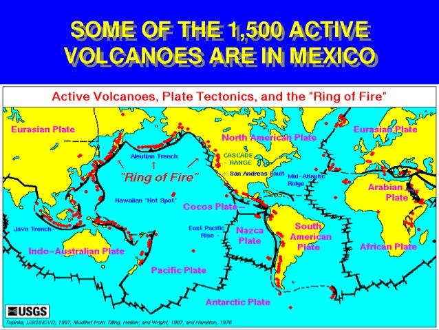 Volcano Erupts Near Mexico City Threatens Millions - Active volcanoes in mexico