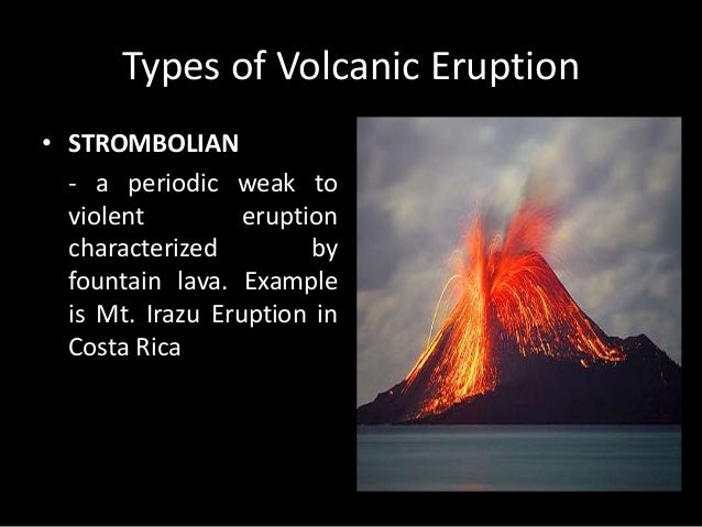 Examples of Volcanoes found in  the Philippines