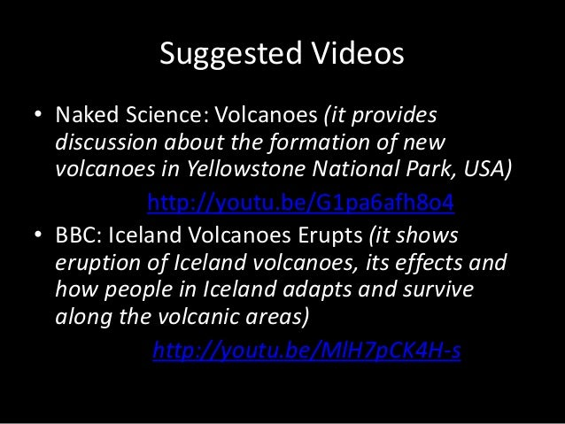 Grade 9 Module 1, Lesson 1.1: Volcanoes (Teacher's Guide for Discussion)
