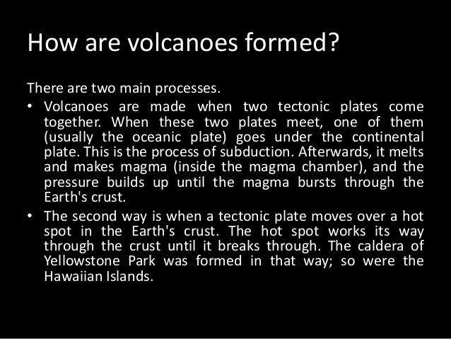 ACTIVE VOLCANOES  • An active volcano is currently erupting, or it  has erupted in the last 10,000 years. An  example of a...
