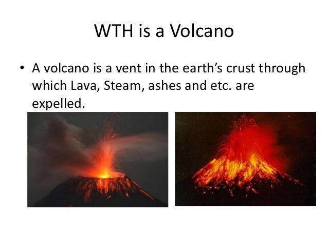 volcanoes powerpoint, Modern powerpoint