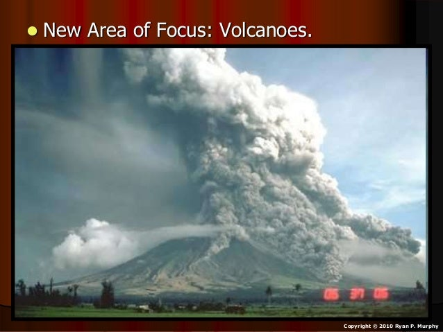 • Activity! Google Earth, Visiting Volcanoes as we cover them. – http://www.google.com/earth/index.html
