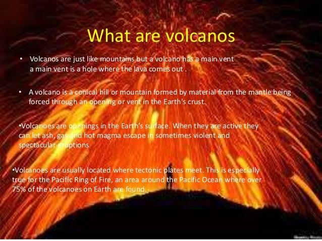 Volcanoes Information Report