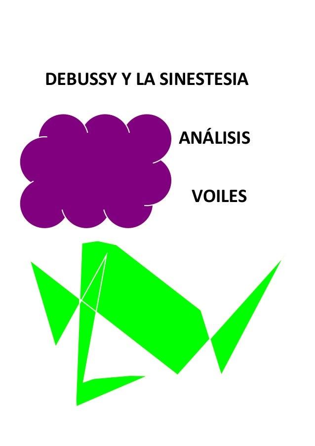 DEBUSSY Y LA SINESTESIA ANÁLISIS VOILES