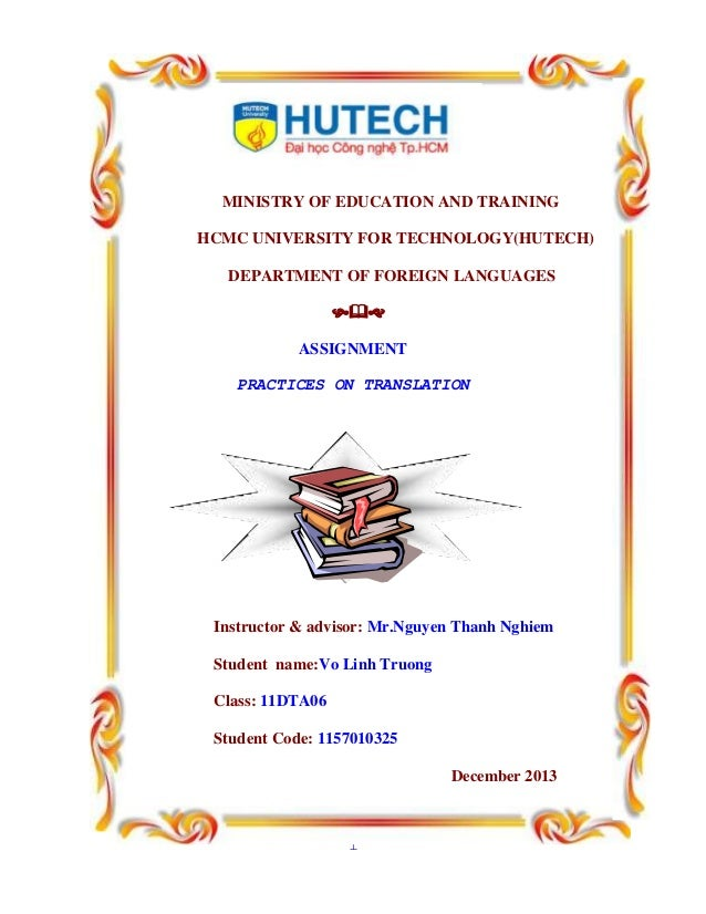 L3 in education training assingment 1