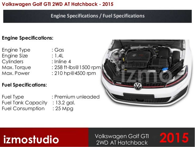 Volkswagen Golf GTI 2WD AT Hatchback 2015 Photo Gallery