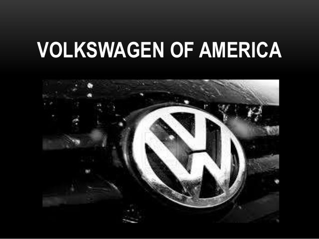 Volkswagen of America Managing it Priorities Case Analysis