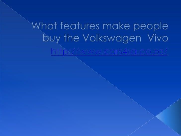    The Polo Vivo is one of the cars that have    been recently added to the many that    have been manufactured by the VW...