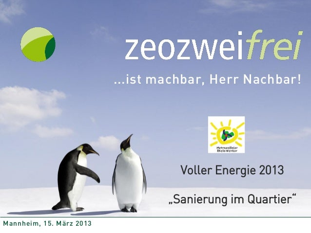 """...ist machbar, Herr Nachbar!                                    Voller Energie 2013                                  """"San..."""