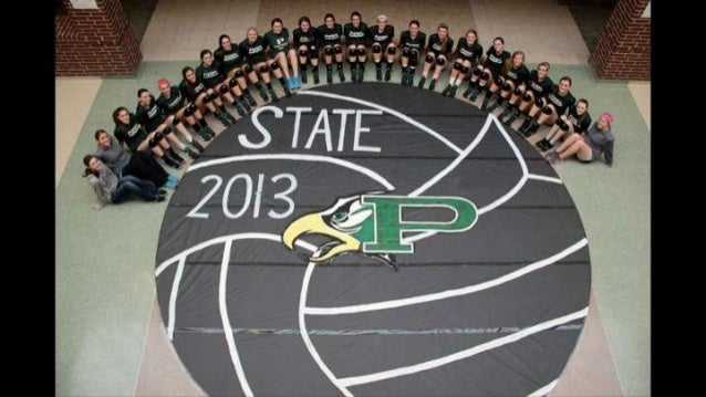 2013 State-bound Girls Volleyball Team