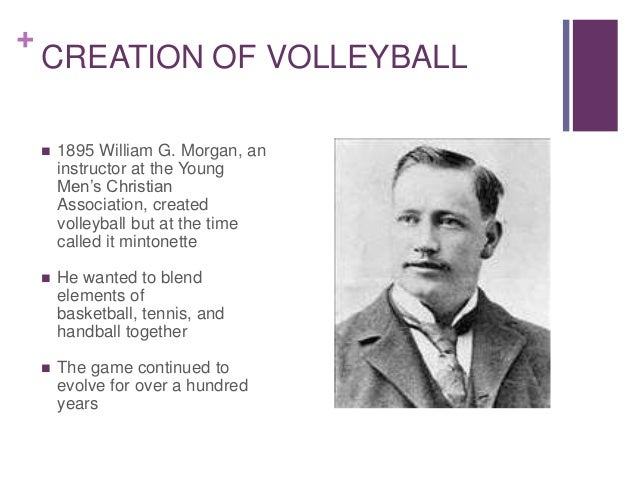 who invented volleyball in 1895