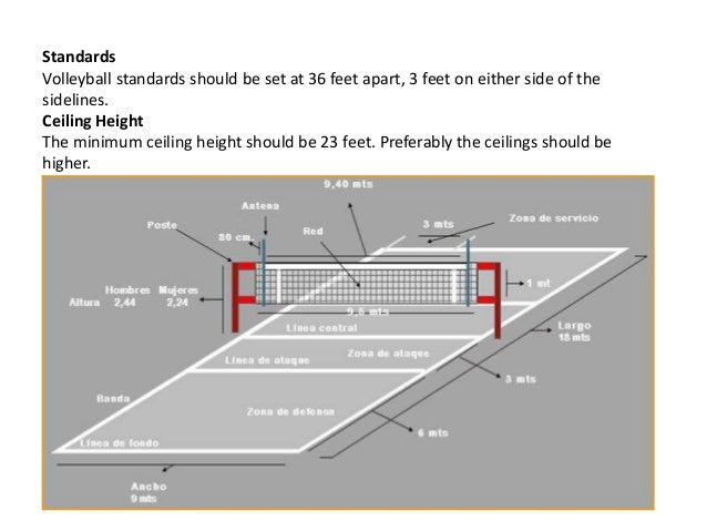 how to build a volleyball net