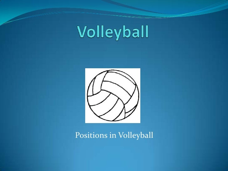 Volleyballpositions