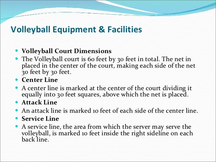 Volleyball skills