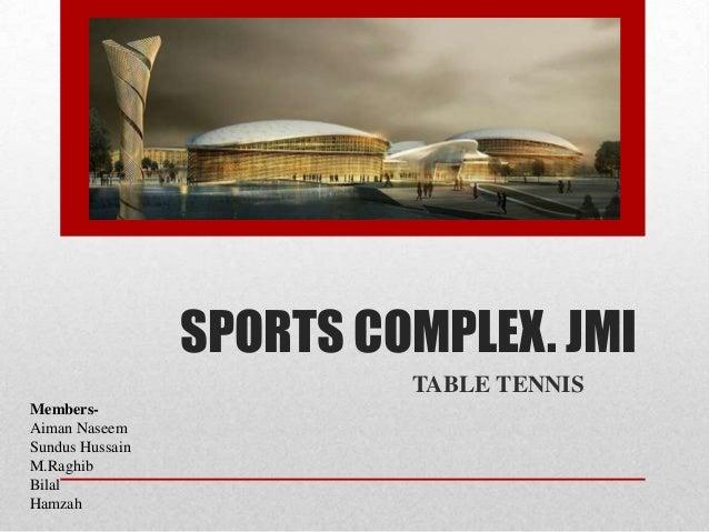Sports Complex Jamia Millia Islamai New Delhi