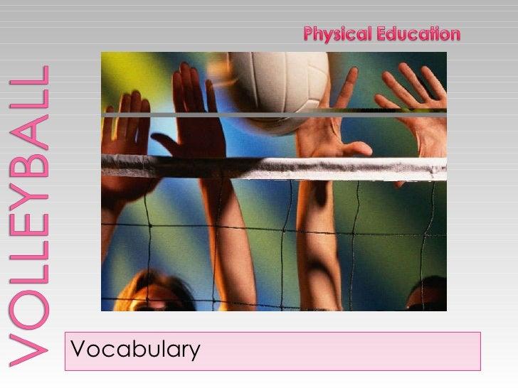 <ul><li>Vocabulary </li></ul>