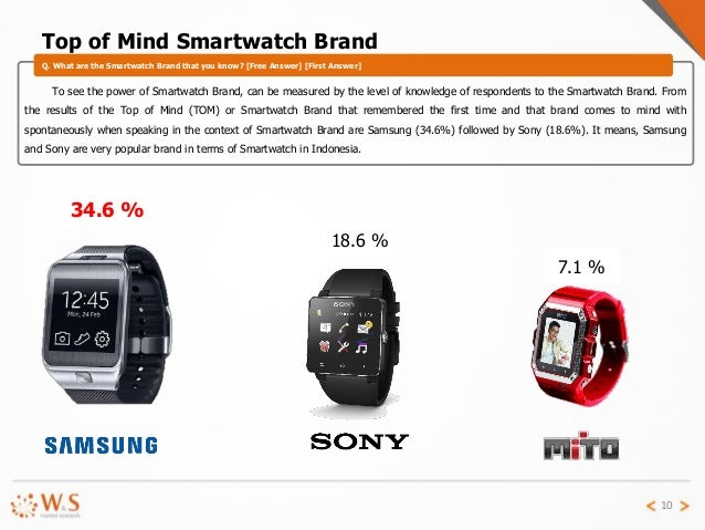 smart watch brands