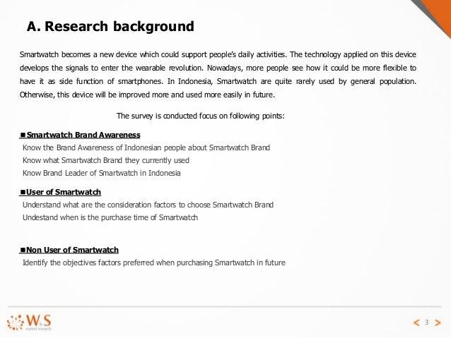 Smartwatch Market Trend in Indonesia 2015 Slide 3