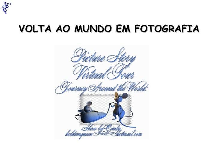 VOLTA AO MUNDO EM FOTOGRAFIA