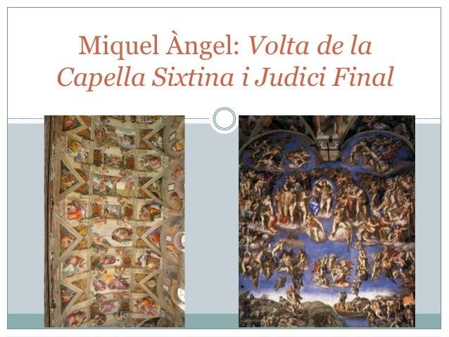 Miquel Àngel: Volta de la Capella Sixtina i Judici Final