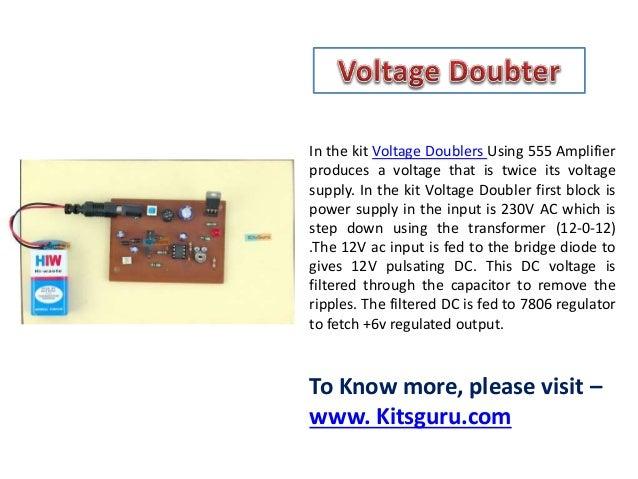 Voltage doubter - Electrical project - Kitsguru.com Slide 2