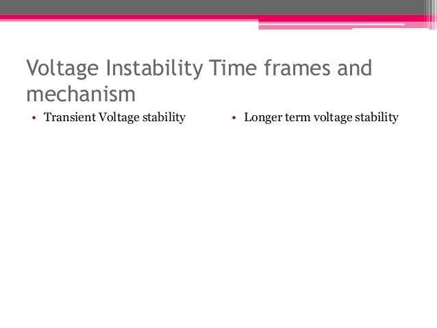 """power system voltage stability thesis Voltage instability has become a major concern in many power systems and  many blackouts have  the term """"model-based approach"""" means in this thesis  an."""