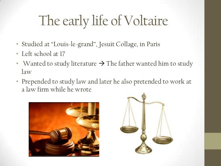 the early life and candide work of voltaire For the first time in any biography, attention is given to voltaire's extensive  of  spanish literature and its influence on his own work, particularly candide.