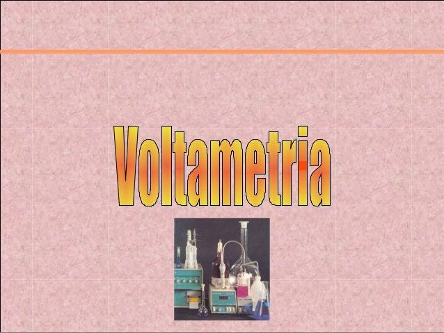 INTRODUÇÃO A VOLTAMETRIA A voltametria envolve a medida de uma corrente em um eletrodo trabalho, como função do potencial ...