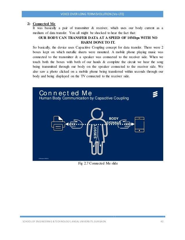 Voice over LTE report